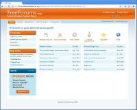 FreeForums Administration - Simple Administration Panel