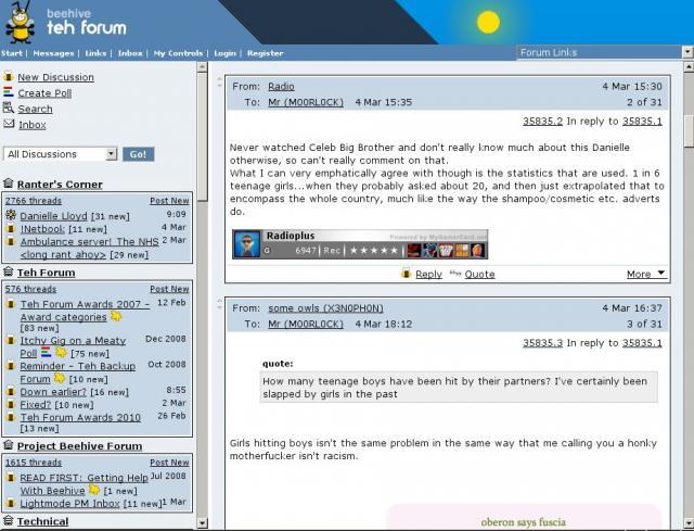 Beehive Forum Demo