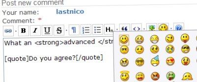 BUEditor Screenshot