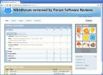 Wikid Forum Screenshot