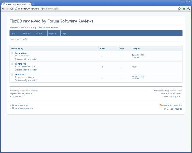 Compare FluxBB vs MyBB vs PhpBB 3 vs Vanilla Forums | Forum