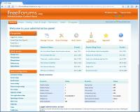 FreeForums Administration - Advanced Administration Panel