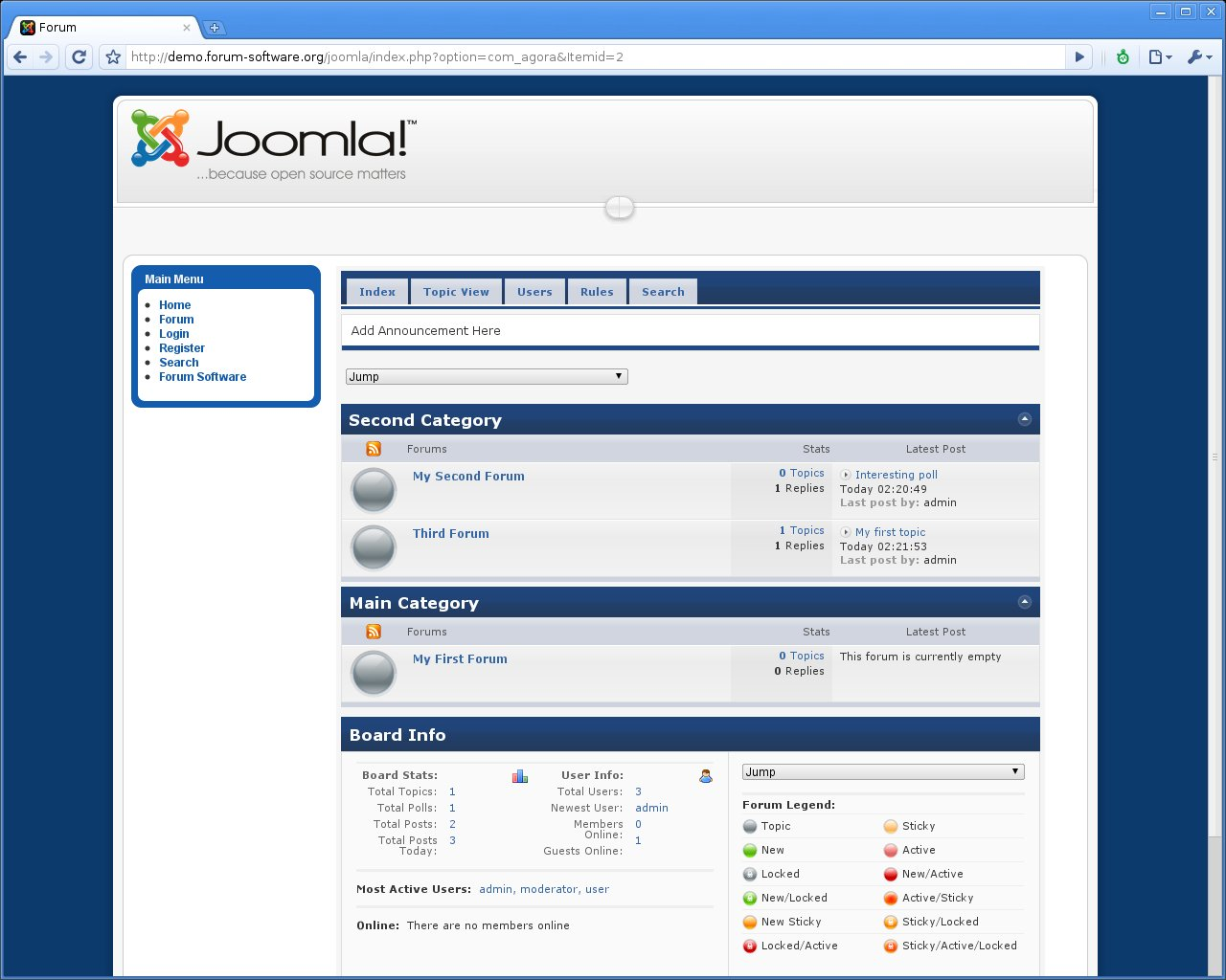 Joomla Forum Review | Forum Software Reviews