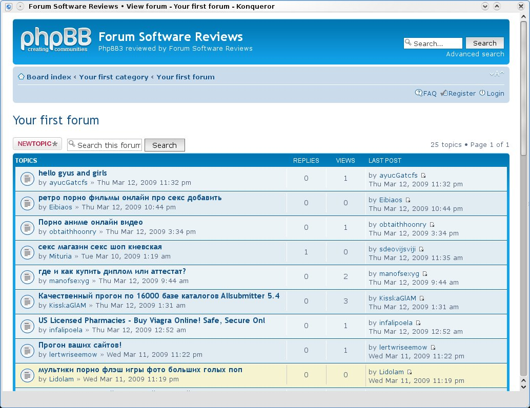 Phpbb 3 Review Forum Software Reviews