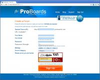 ProBoards - Signup