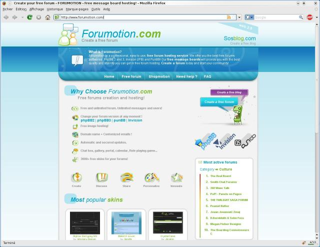 Forumotion Demo