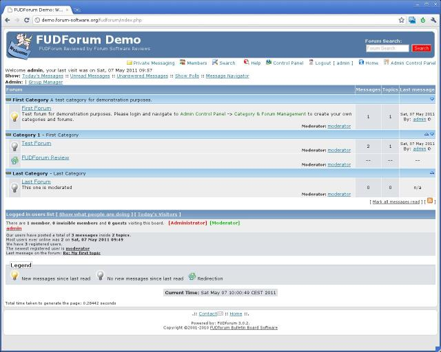 Compare FUDForum vs IP Board vs PhpBB 3 vs PunBB | Forum