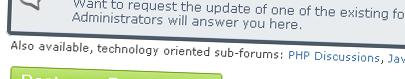 Hidden Forum Sections