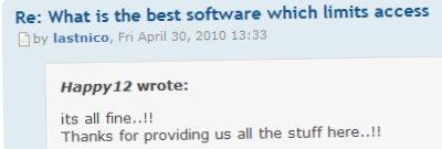 Quote Module Screenshot