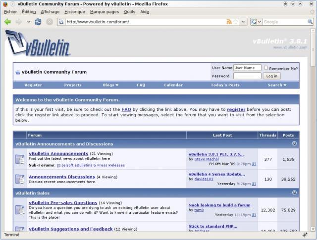 vbulletin version 3.8 4