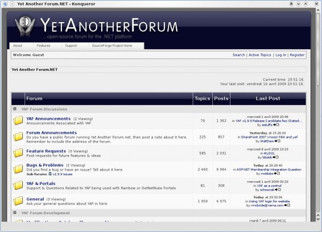 Yet Another Forum Demo